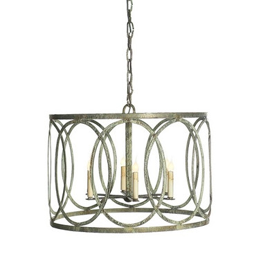 French iron charles pendant 6 light chandeliers french iron charles pendant 6 light image 1 mozeypictures Choice Image