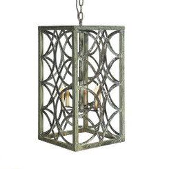 French Iron Eloise Lantern 6 Light