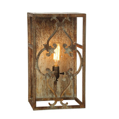 French Iron Baton Rouge Sconce