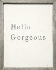 Sugarboo Designs Hello Gorgeous Art on Wood