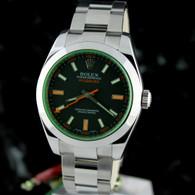 Rolex MILGAUSS Green Crystal 116400 GV