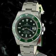 Rolex SUBMARINER LV GREEN CERAMIC 116610