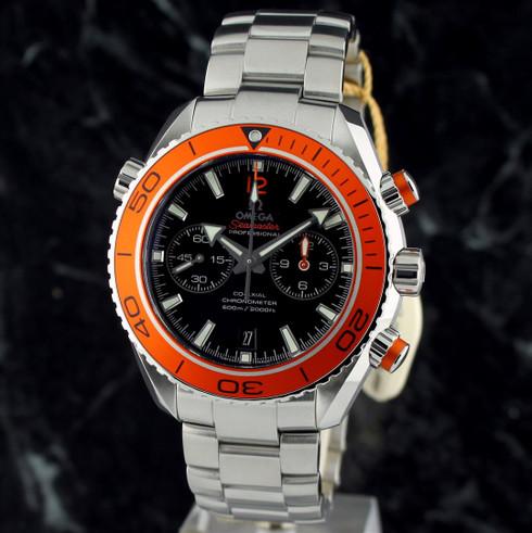Omega Seamaster Planet Ocean Orange Chrono
