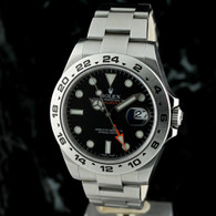 Rolex EXPLORER II 216570 Orange Hand 42MM ~ G serial