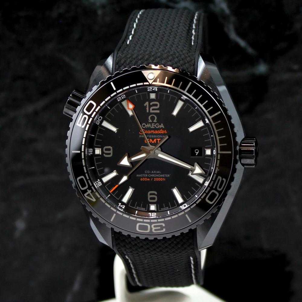 Omega Seamaster Deep Black Planet Ocean 215 92 46 22 01 001