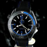 OMEGA Seamaster BLUE DEEP BLACK PLANET OCEAN GMT Ceramic 215.92.46.22.01.002
