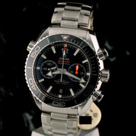 OMEGA SEAMASTER Planet Ocean Chrono BLACK 46mm CoAxial 215.30.46.51.01.001
