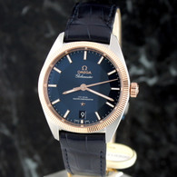 OMEGA CONSTELLATION 18K GOLD/SS GLOBEMASTER Co Axial 130.23.39.21.03.001