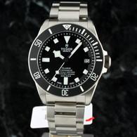 Tudor PELAGOS Black Dial TITANIUM Diver 25600TN