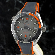 OMEGA Seamaster PLANET OCEAN TITANIUM on strap 215.92.44.21.99.001
