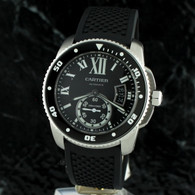 Cartier CALIBRE DE CARTIER DIVER Automatic Black Dial W7100056