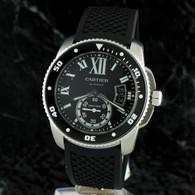 Cartier CALIBRE DE CARTIER DIVER Automatic Black Dial W7100056