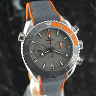 OMEGA SEAMASTER Planet Ocean Chrono TITANIUM 46mm 215.92.46.51.99.001 ~ NEW RELEASE