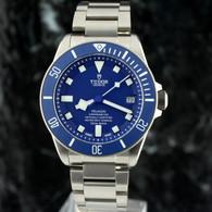 Tudor In-House PELAGOS Blue Dial TITANIUM Diver 25600TB