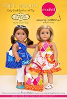 Mini Naomi: Dolly-sized Sundress and Top