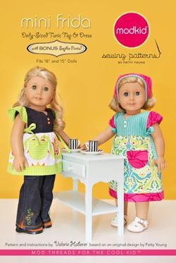 Mini Frida: Dolly-sized Tanktop and Dress