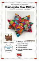 Harlequin Star Pillow and Pincushion Pattern