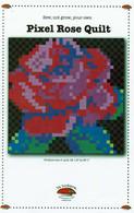 Pixel Rose Quilt Pattern