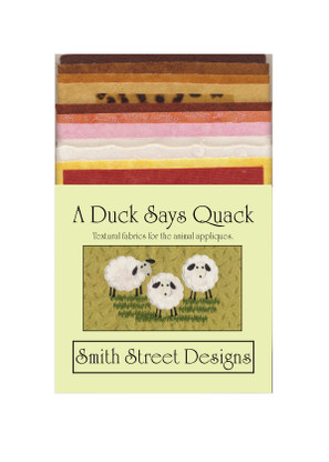 A Duck Says Quack Fabric Pack