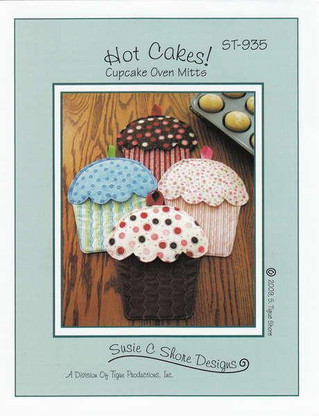 Hot Cakes! Cupcake Oven Mitts