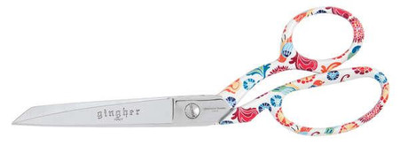 Julia 8in Left Handed Dressmaker Shears - Designer Series
