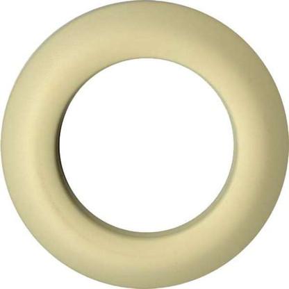 Grommets 25mm Round 8/pkg Matte Cream
