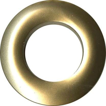 Grommets 25mm Round 8/pkg  Matte Gold