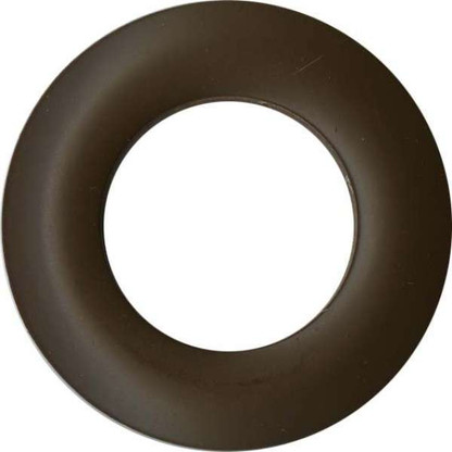 Grommets 25mm Round 8/pkg Matte Brown