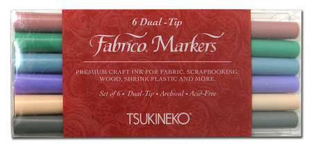 Fabrico Dual Marker Set Pastel Colors