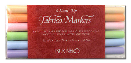 Fabrico Dual Marker Set Sorbet Colors