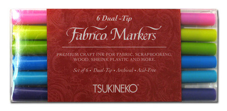 Fabrico Dual Marker Set Gemstones Colors