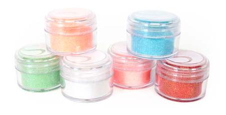 Glitter Pastel 6/pkg