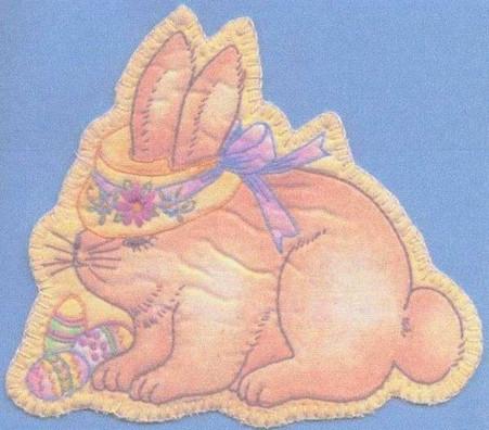 Heirloom Ornament - Bonnet Bunny