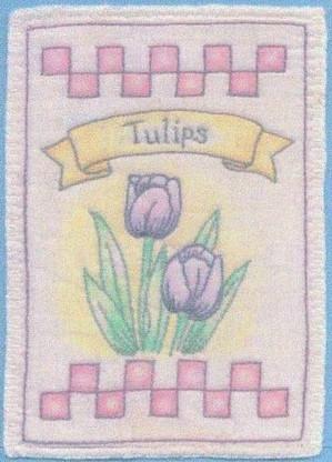 Heirloom Ornament - Tulips