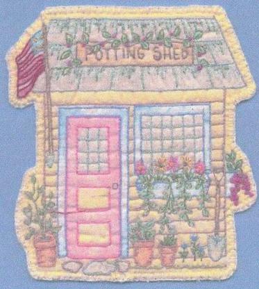 Heirloom Ornament - Potting Shed