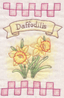 Heirloom Ornament - Daffodils