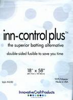 Inn-Control Plus Fusible Batting Alternative 58in x 18in