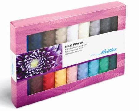 Mettler Silk Finish Gift Pack 18 spools