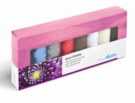 Mettler Silk Finish Gift Pack 8 spools