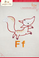 F Fox Hand Embroidery