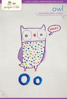 O Owl Hand Embroidery