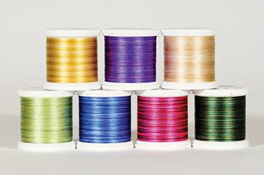 YLI Silk #100 Variegated Thread Assortment