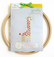 Giraffe Hand Embroidery Kit