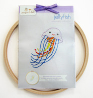 Jellyfish Hand Embroidery Kit
