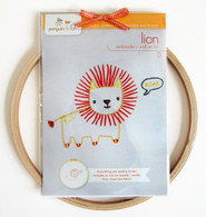 Lion Hand Embroidery Kit