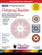 Hot Pad Interfacing Templates 3/pkg
