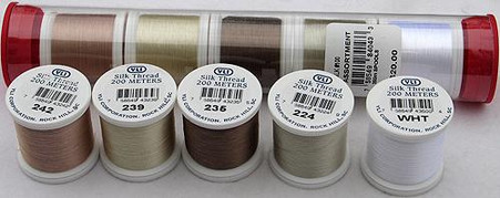 YLI Silk #100 Neutral Thread Assortment