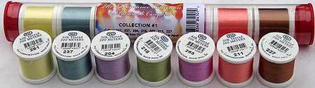 YLI Silk #100Romance Collection No.1 Patricia Campbell Thread Assortment
