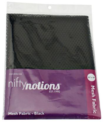 Mesh Fabric 1/2yd x 50in Black