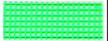 Vinyl Mesh Roll 18in x 36in Lime Green